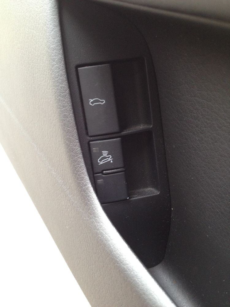B7 S4 Cabriolet Mystery Switch