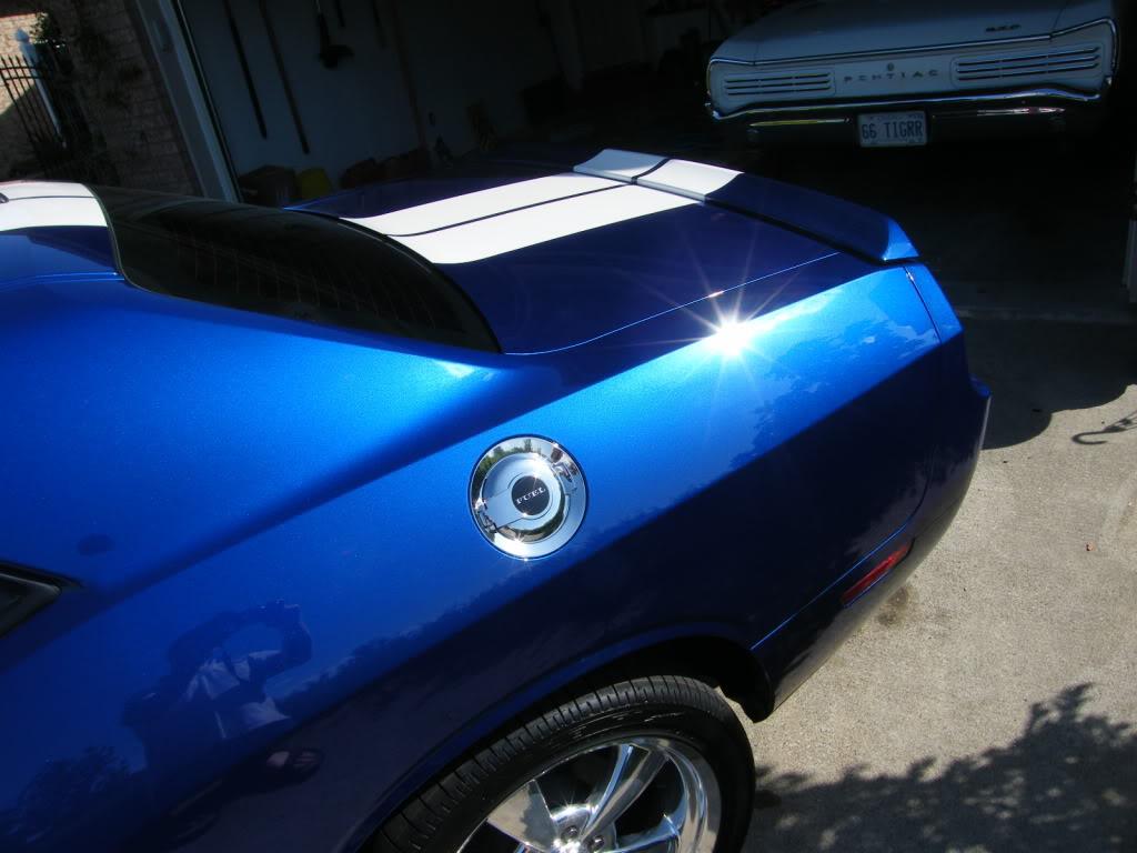 Dodge Challenger B7 Blue Autos Post